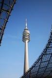 Torre olímpica Imágenes de archivo libres de regalías