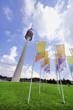 Torre olímpica de Munich Fotos de archivo libres de regalías