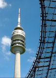 Torre olimpica a Monaco di Baviera, Germania Immagini Stock