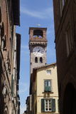Torre ora in Lucca stock image