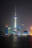 Torre oriental de la perla TV de Shangai Imágenes de archivo libres de regalías