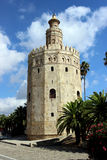 Torre oro sevilla. Torre oro in sevilla royalty free stock photography