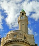 Torre - orologio fotografia stock