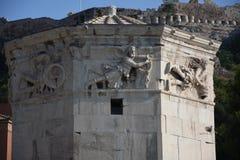 A torre os ventos, Atenas, Grécia Foto de Stock