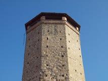 Torre Ottagonale基瓦索 库存照片