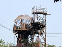 Torre oxidada, parque universal Fotos de archivo libres de regalías