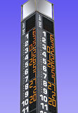 Torre-pólo do Stat Foto de Stock
