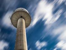Torre pública da estação de radar imagem de stock royalty free