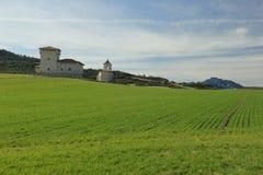 Torre-palazzo della famiglia di Varona Immagine Stock
