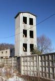Torre para las mangueras de bomberos de sequía Foto de archivo