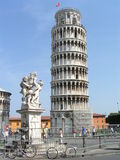 Torre Pendante. The Leaning Tower of Pisa, Pisa, Italy royalty free stock image