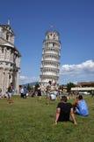 Torre pendente di Pisa Immagine Stock