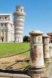 Torre pendente di Pisa, Italia Immagini Stock