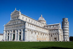 Torre pendente di Pisa. Took in Pisa Italy, clear sky Royalty Free Stock Images