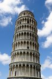 Torre Pendente (Pisa). The famous leaning tower   in the ancient town of Pisa (Tuscany Stock Image
