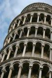 Torre. Pisa. El inclinarse Fotos de archivo libres de regalías