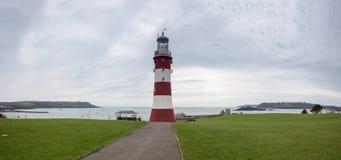 Torre Plymouth del faro de Smeatons Imágenes de archivo libres de regalías