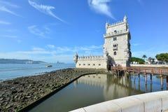 Torre Portogallo di Belem Immagine Stock