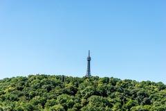 Torre Praga de Petrin Fotos de archivo