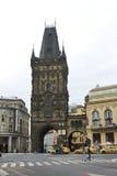 Torre Praga do pó Foto de Stock