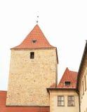 Torre preta no castelo de Praga Foto de Stock Royalty Free