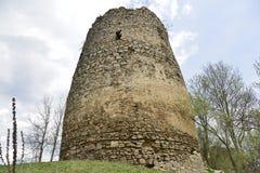 Torre principale della fortezza medievale di Bologa Fotografia Stock Libera da Diritti