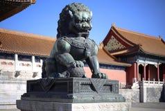Torre proibida Beijing da porta da cidade de China Imagem de Stock Royalty Free