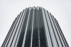 Torre prudencial del ` s de Boston adentro en el centro de la ciudad fotos de archivo libres de regalías