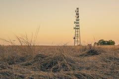 Torre radiofonica nel Queensland Fotografia Stock Libera da Diritti