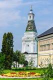 Torre reale della crosta calcarea e dei corridoi St Sergius Lavra della trinità santa Sergiev Posad Immagini Stock