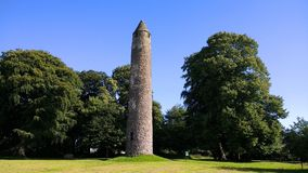 Torre redonda antiga Fotos de Stock Royalty Free