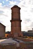 Torre redonda de Marsella cerca del puerto Imágenes de archivo libres de regalías