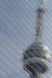 Torre refletida Imagem de Stock