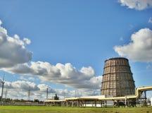 Torre refrigerando Fotos de Stock Royalty Free