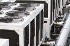 Torre refrigerando Imagens de Stock