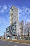 Torre residenziale di West Point, Tilburg, Paesi Bassi Fotografie Stock Libere da Diritti
