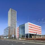 Torre residenziale di West Point, Tilburg, Paesi Bassi Fotografia Stock Libera da Diritti
