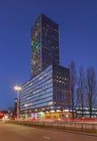 Torre residenziale a penombra, Tilburg, Paesi Bassi di West Point Immagine Stock Libera da Diritti