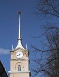 Torre retro da estação de correios Fotografia de Stock Royalty Free
