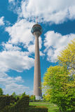 Torre Rheinturm da tevê, Dusseldorf, Alemanha, Europa Foto de Stock