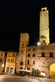 Torre Rognosa in San Gimignano, Tuscany Royalty Free Stock Image