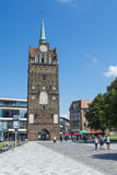 Torre Rostock di Kröpeliner Fotografia Stock Libera da Diritti