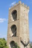 Torre San Niccolo en Florencia, Italia Foto de archivo libre de regalías