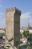 Torre San Niccolo and Florence cityscape, Italy Royalty Free Stock Image