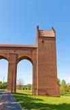 Torre sanitaria del castello di Marienwerder (1350) Kwidzyn, Polonia Fotografia Stock Libera da Diritti