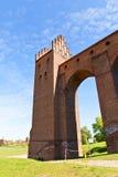 Torre sanitaria del castello di Marienwerder (1350) Kwidzyn, Polonia Immagine Stock Libera da Diritti