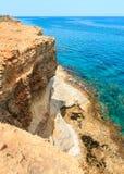 Torre Sant Andrea, Italy. Picturesque seascape with cliffs, at Torre Sant Andrea, Salento sea coast, Puglia, Italy Stock Photo