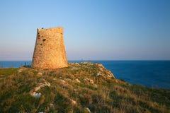 Torre Sant Emiliano near Otranto, province of Lecce, Apulia, Ita Royalty Free Stock Image