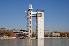 Torre Schindler, Seville zdjęcie stock