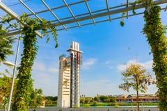 Torre Schindler w Seville, Hiszpania fotografia stock